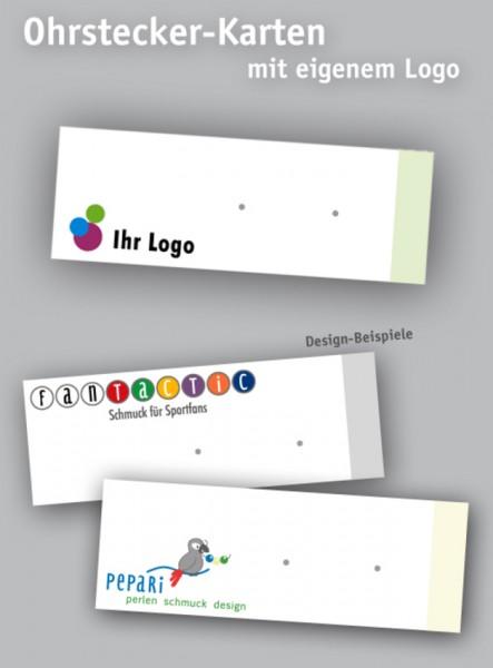Ohrstecker Karten | Ohrstecker Displays | Schmuckdisplays | mit Logo
