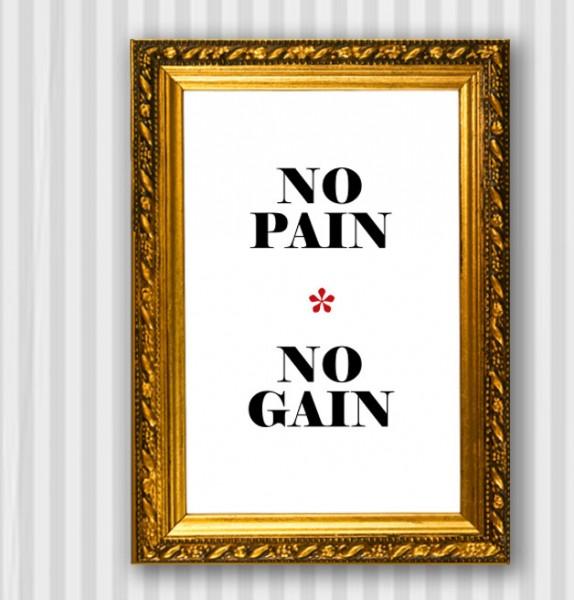 Typo Druck | *no pain - no gain*