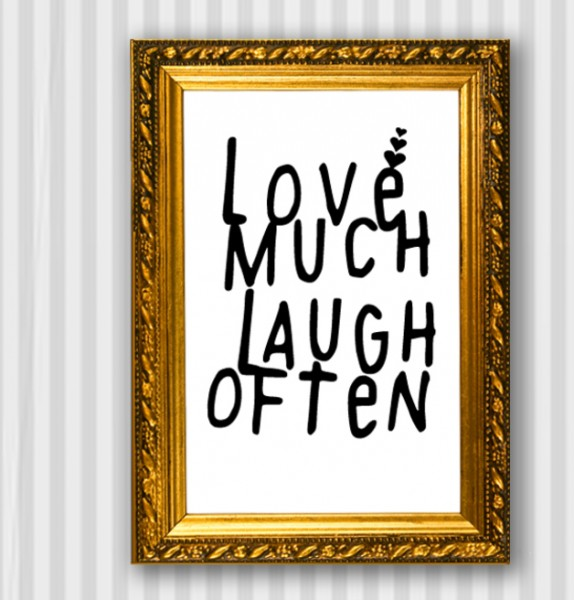 Typo Druck | *Love & Laugh*