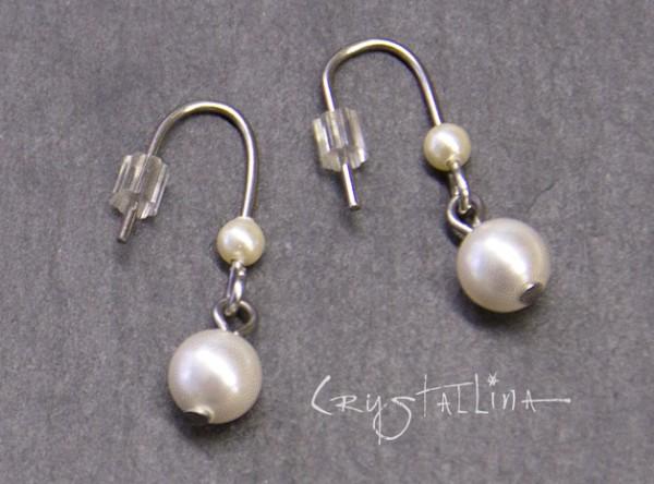 Ohrringe | Ohrhänger | mit Swarovski Elements® Perlen | für Mädchen und junge Damen