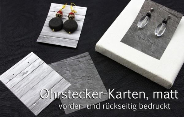 Ohrschmuck-Displays, Rechteck | Schiefer | Holz | beidseitig