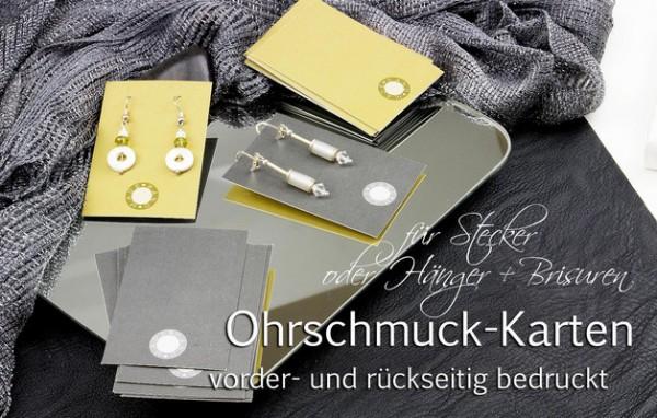 Ohrschmuck-Träger | Handmade | Stempeloptik