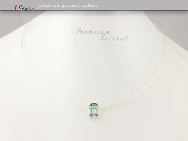 Kurzes Collier | edel und schlicht | Pendulum-Perle von Swarovski