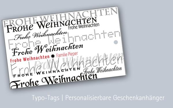 Geschenkanhänger | Weihnachten | personalisiert mit Name | Wunschname