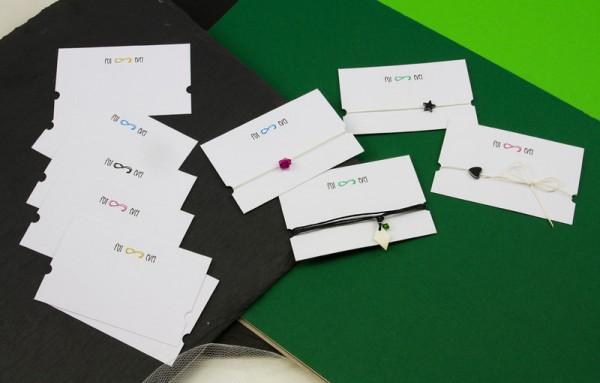 Armbandkarten | Display mit Motiv *FOREVER*
