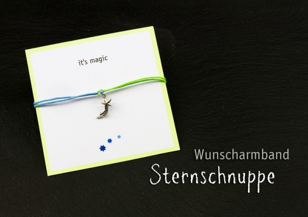 Wunscharmband | it's magic * Sternschnuppe